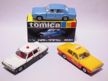 トミカ ニュークラウン パトロールカー タクシー