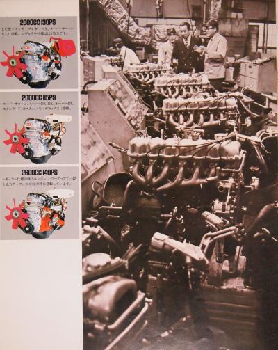 73年2月 クラウン エンジン紹介