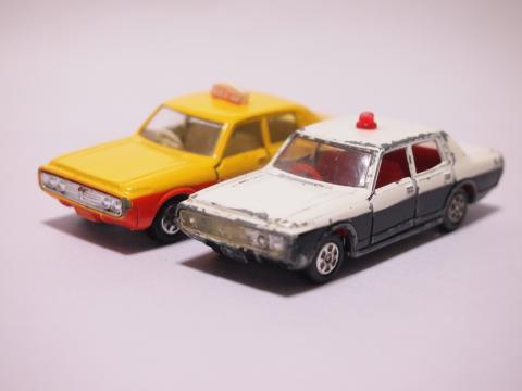 トミカ ニュークラウン タクシー パトカー