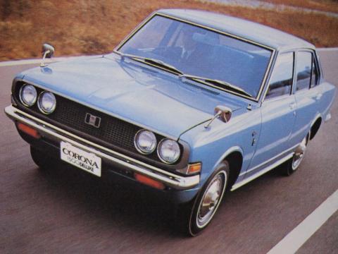 70年 コロナセダン1500DX