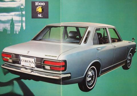 70年1月 コロナ1600SL