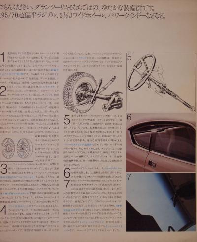 73年12月 ルーチェGT 装備