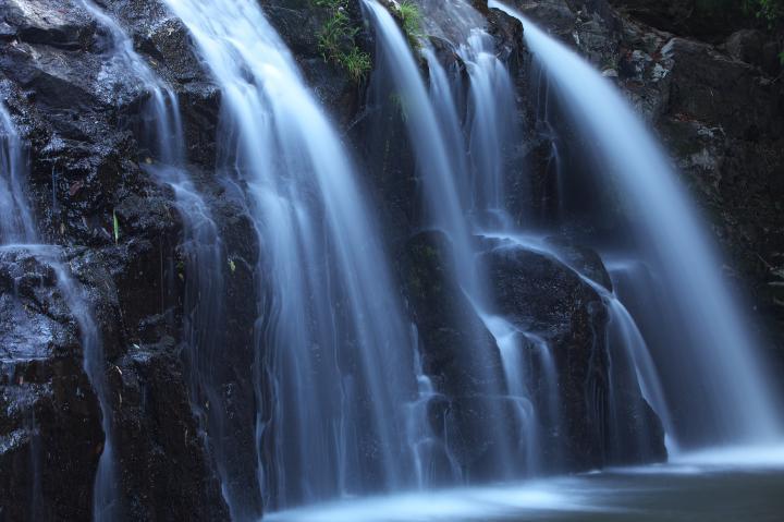 江津市の滝「岩龍寺の滝」