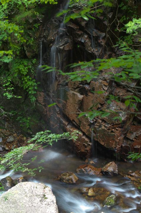 三ツ滝から出合滝