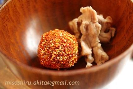中華風味噌ボール