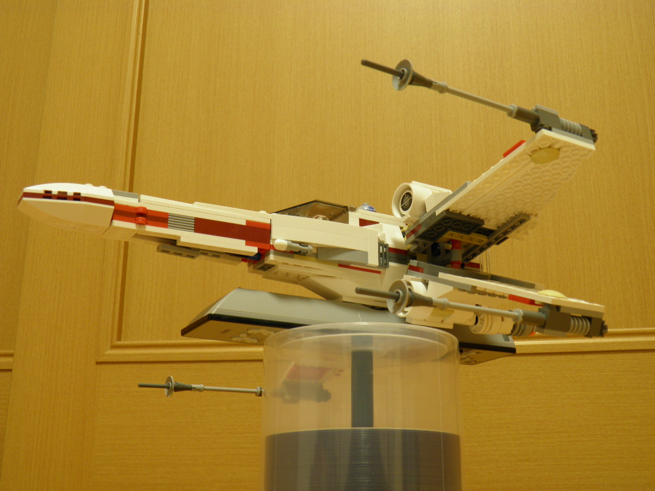 Xウイング ファイター レビュー. LEGO Xwing 018