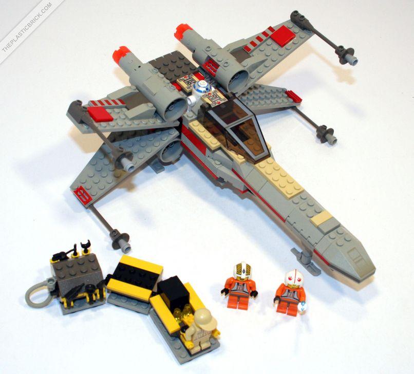 LEGO Xwing 7140参考