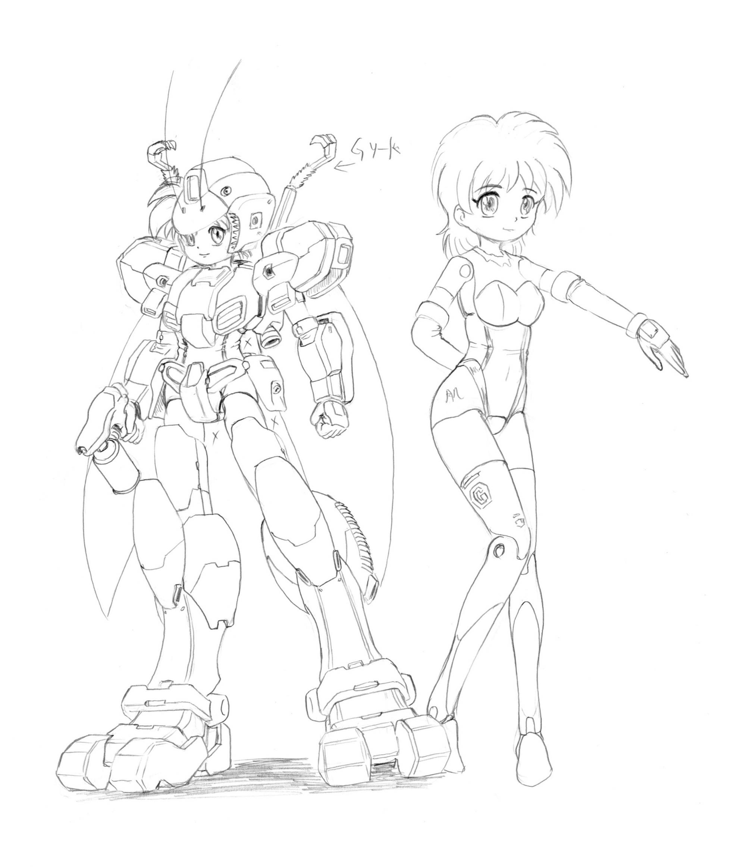 G型神姫縮小
