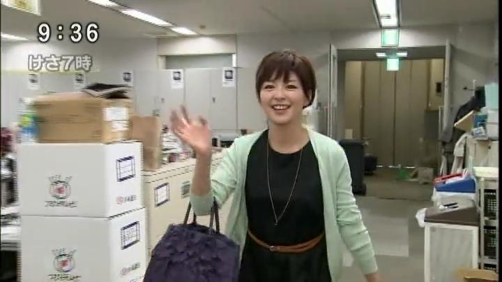 とくダネ、中野美奈子アナ、ラスト出社