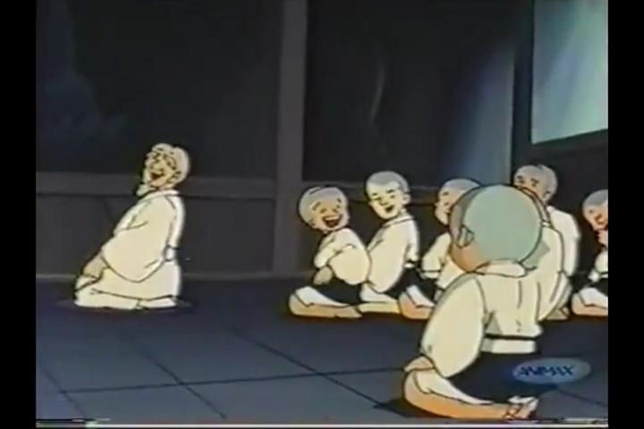 アニメ一休さん、安国寺、本堂