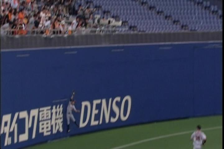 2012年、巨人の松本哲也が事実上の2安打&初の超ファインプレー!!
