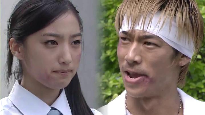 鬼塚と常盤愛(坂東希)