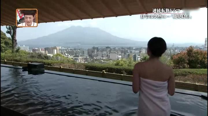 2012.5.17新潟、東はるみ(黛英里佳)お宝入浴シーン第1弾、後ろ姿