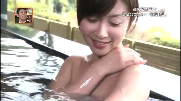 2012.5.17新潟、東はるみ(黛英里佳)お宝入浴シーン第1弾、肩に手を…のアップシーン