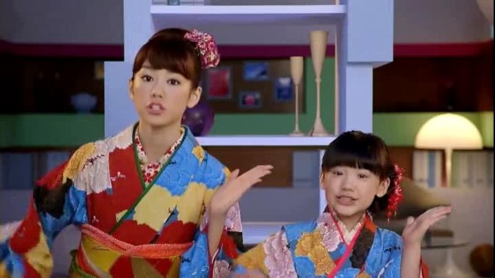 芦田愛菜&藤崎志乃美(桐谷美玲)ピクサス年賀状CM「静かだ…」