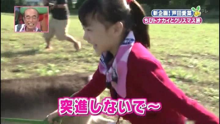 芦田愛菜ちゃん【天才!志村動物園】に登場!「突進しないで~…」.avi_000128828