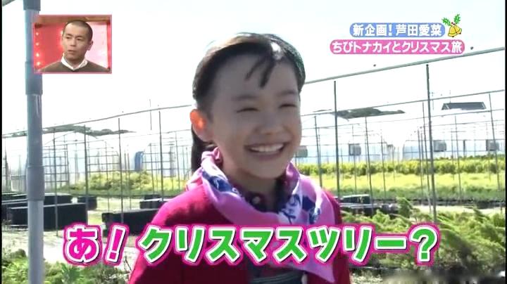 芦田愛菜ちゃん【天才!志村動物園】に登場!「あっ!クリスマスツリー?」