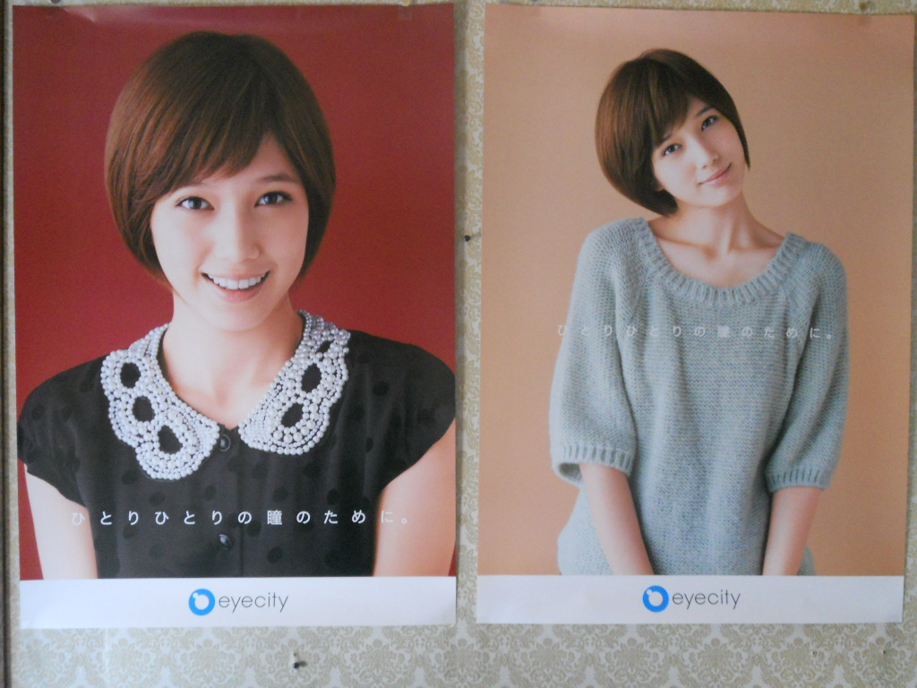 2代目【GTO】神崎麗美(本田翼)、アイシティポスター第1章(11月分、右)&第2章(12月分、左)