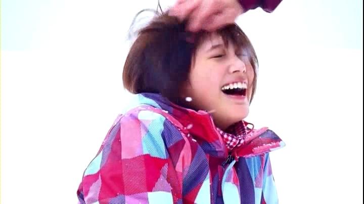 2代目【GTO】神崎麗美(本田翼)JR SKI SKIのCMに登場!髪をクシャクシャに…