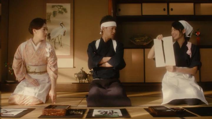 【メビウス】ミサキ女史どん兵衛CM第12弾に登場!弟子の文字にミサキ女史も納得…(笑)