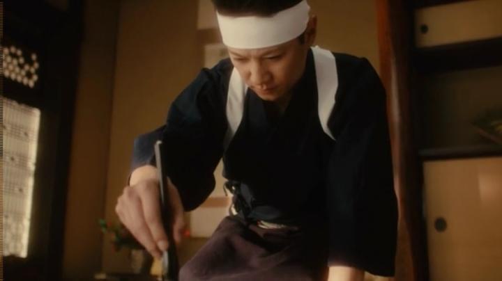 【メビウス】ミサキ女史どん兵衛CM第12弾に登場!中居、指の位置