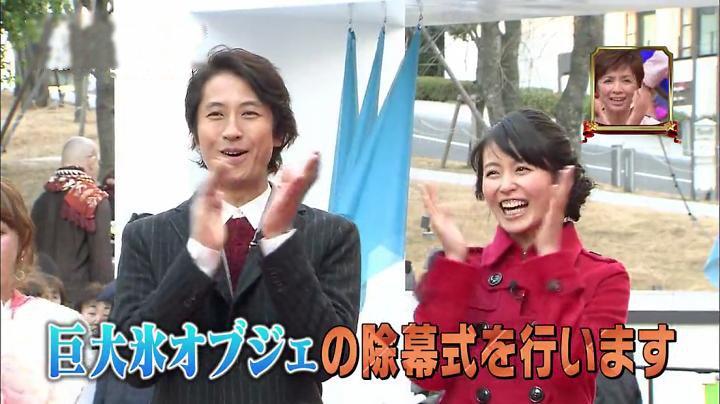 号泣!!元仮屋ユイカ…除幕式を行いますに拍手するユイカ