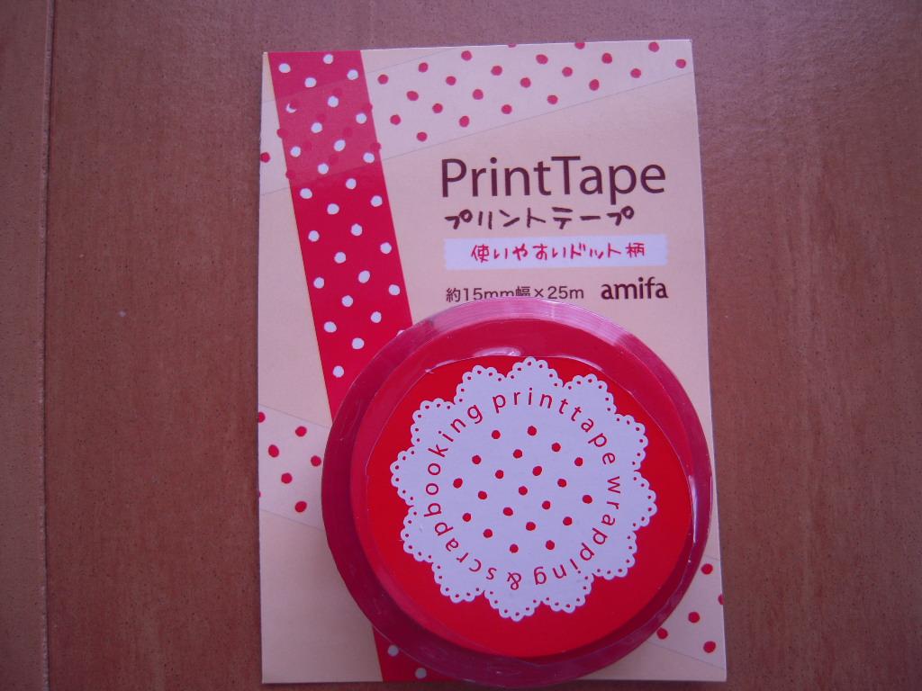 キャンドゥ☆ドットプリントテープ☆1