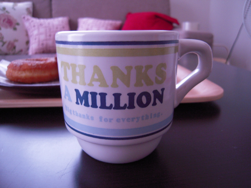 セリアで購入のマグカップ☆3