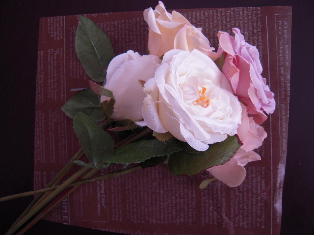 100円の造花☆1