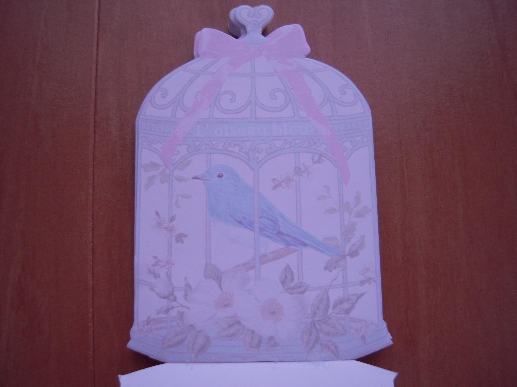 キャンドゥ☆アンティークメモ(鳥かご)☆2