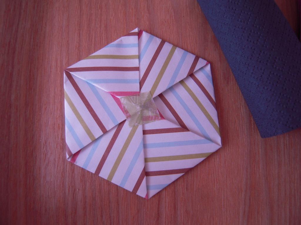 六角形ポチ袋☆