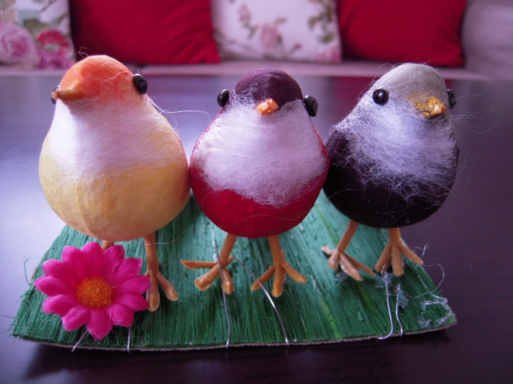 3coins☆ 小鳥3羽☆1