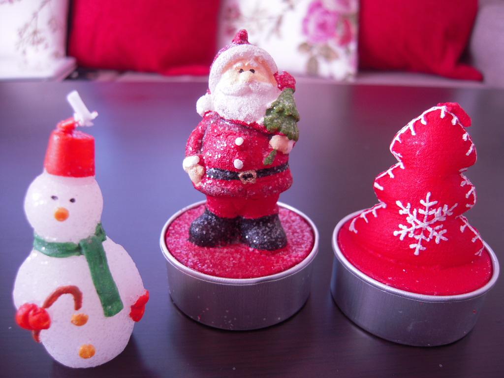 ナチュラルキッチン☆クリスマスキャンドル☆1