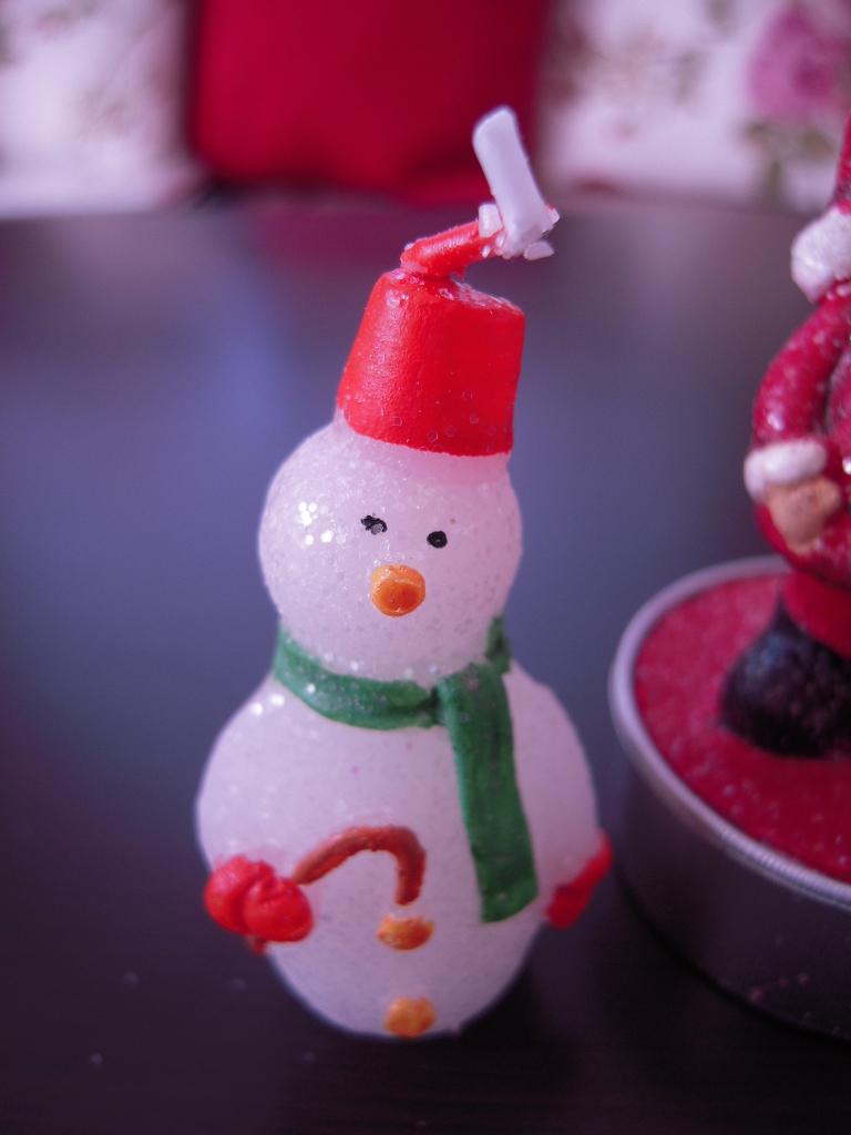 ナチュラルキッチン☆クリスマスキャンドル☆2