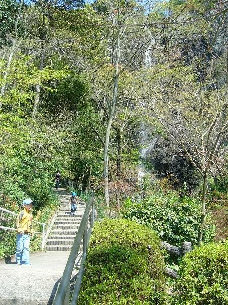 不動の滝散策