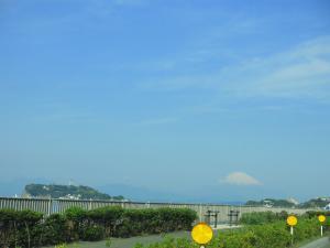 江の島・富士