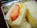 銀座千疋屋のフルーツサンドイッチ