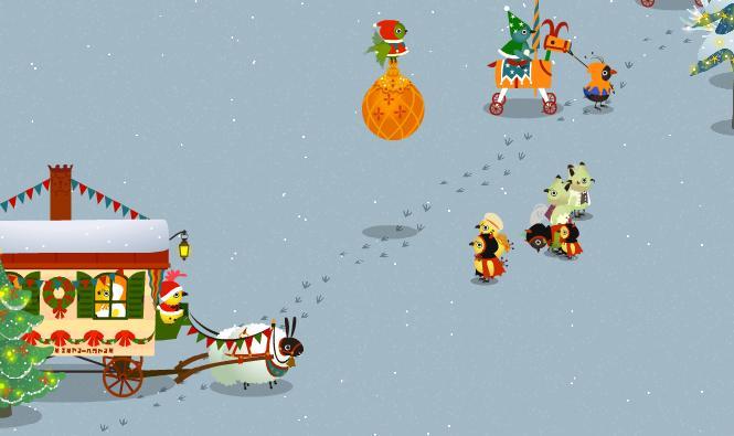 クリスマスパレード2