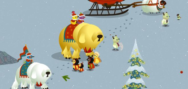 クリスマスパレード4