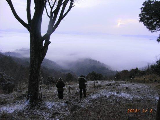 新年の雲海
