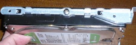 INSPIRON 3847 - HDDスライドバー装着