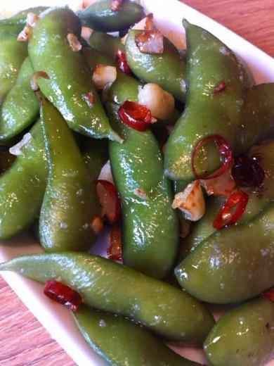枝豆ペペロン