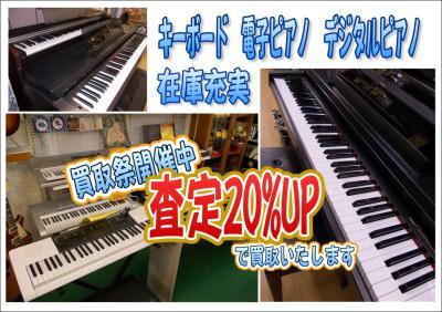 電子ピアノ アップ用