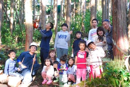 森のたね 猟師と森づくり 集合写真