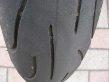バイク乗りのブログ-9R フロントタイヤ