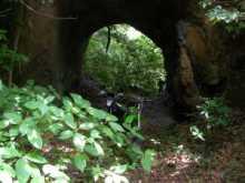 バイク乗りのブログ-房総の素堀りトンネル