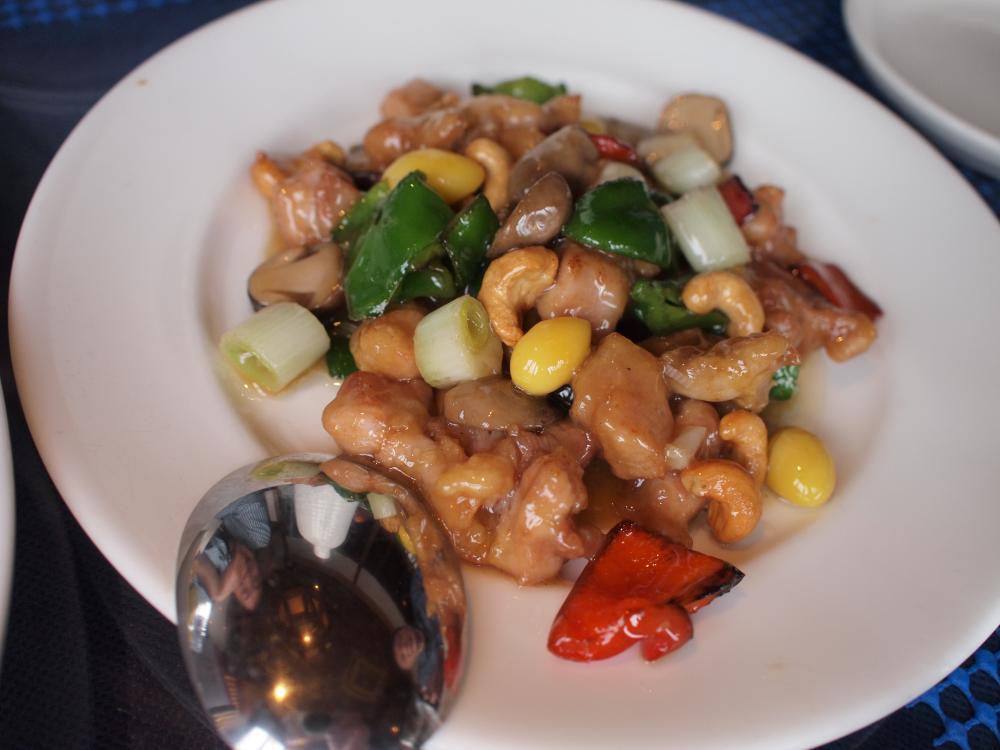 カシューナッツと鶏肉の炒め