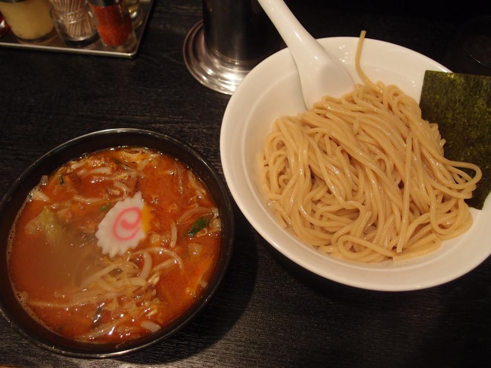 野菜つけ麺(辛み3)