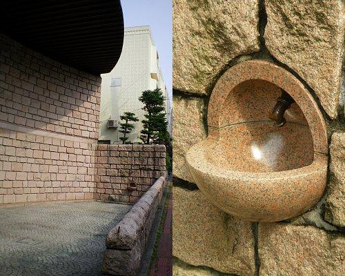 松濤美術館・水飲み場