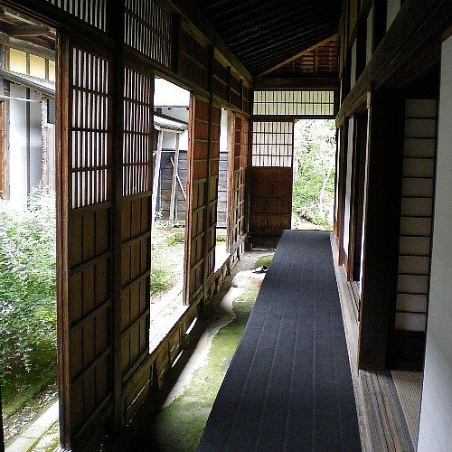 旧笹川邸 廊下